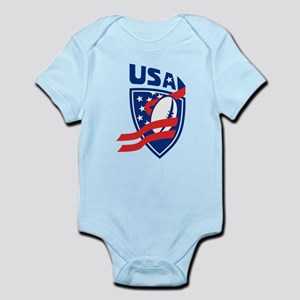 American USA Rugby Infant Bodysuit