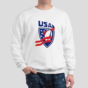 American USA Rugby Sweatshirt