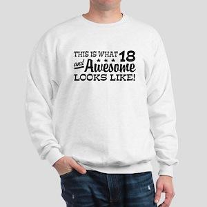 Funny 18th Birthday Sweatshirt