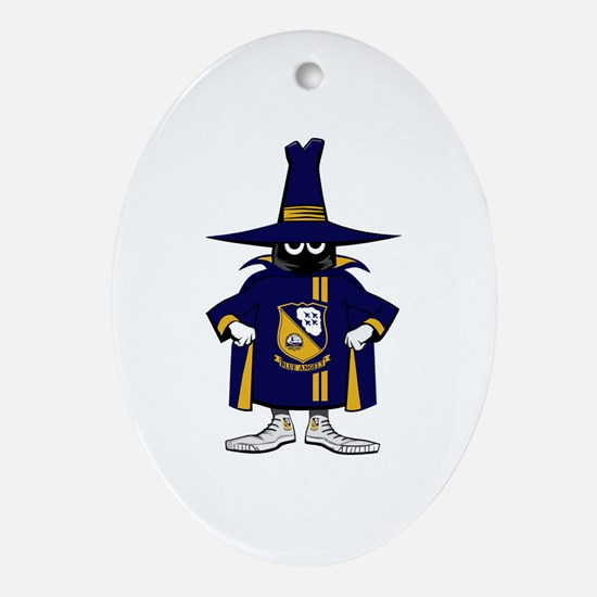 Spook Ornament (Oval)