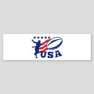 American USA Rugby Sticker (Bumper 10 pk)