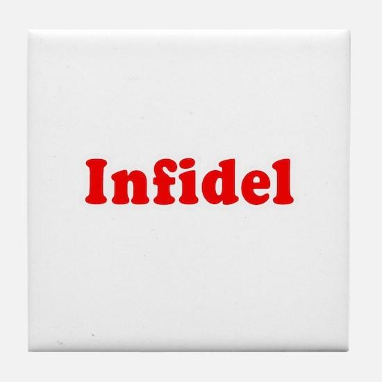 Infidel - Tile Coaster