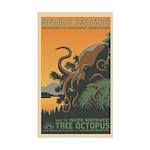 """A New Dawn"" Tree Octopus Sticker"