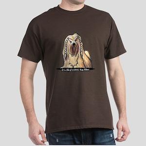 2006 Braided Lhasa Apso Dark T-Shirt
