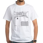 Free Ham (No Text) White T-Shirt