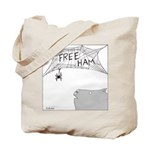 Free Ham (No Text) Tote Bag