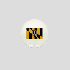 Baltimore City Flag Mini Button