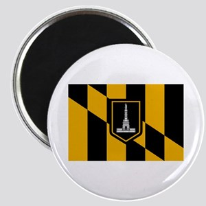 Baltimore City Flag Magnet