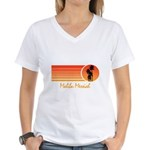 Malibu Messiah Women's V-Neck T-Shirt