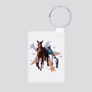 Harness Star Aluminum Photo Keychain