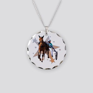 Harness Star Necklace Circle Charm