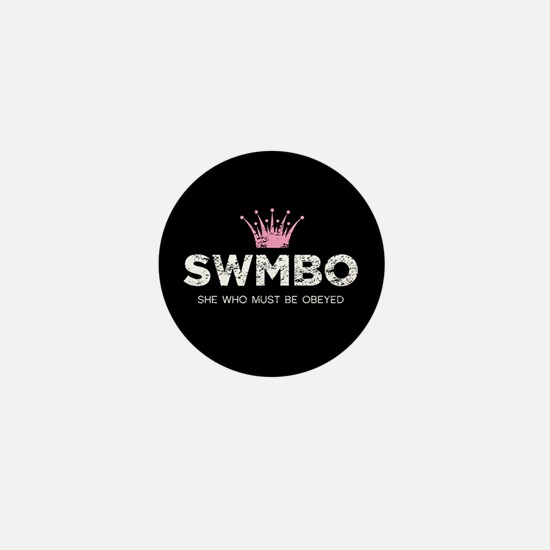 SWMBO Crown Mini Button