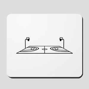 Basketball court Mousepad