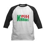 Duh Winning Kids Baseball Jersey
