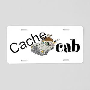 Cache Cab Aluminum License Plate