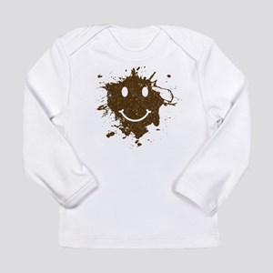 Mud Face Long Sleeve Infant T-Shirt