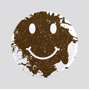 """Mud Face 3.5"""" Button"""