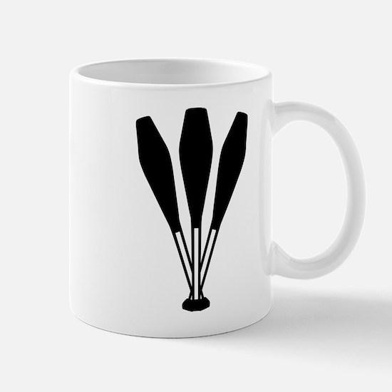 Juggling pins Mug