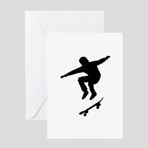 Skateboarder Greeting Card