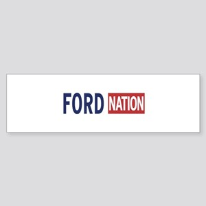 Ford_For_Mayor-8x10_apparel_03 Bumper Sticker