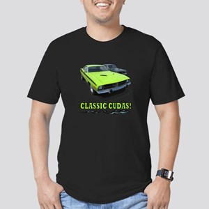CLASSIC CUDAS! Men's Fitted T-Shirt (dark)