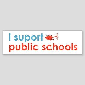 Public Schools Sticker (Bumper)