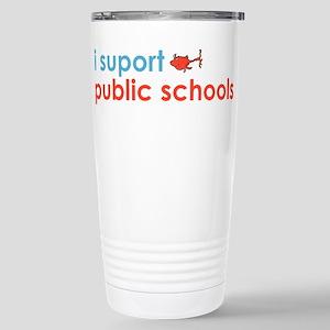 Public Schools Stainless Steel Travel Mug