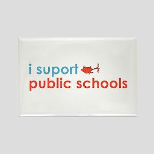 Public Schools Rectangle Magnet (10 pack)