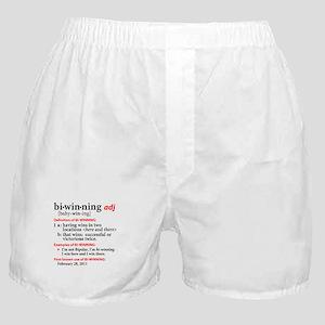 Bi-Winning Definition Boxer Shorts