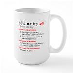 Bi-Winning Definition Large Mug