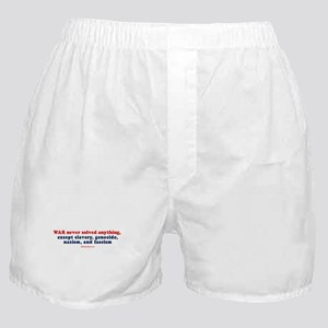 War never solved anything -  Boxer Shorts