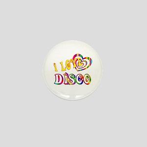 I Love Disco Mini Button