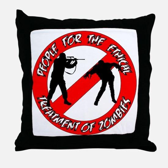 P.E.T.Z. Logo Throw Pillow