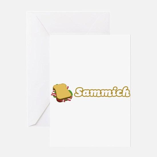 Sammich Greeting Card