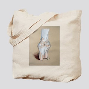 Ballet Pointe Shoes Tote Bag