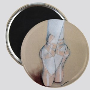 Ballet Pointe Shoes Magnet