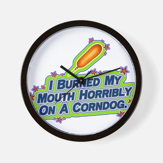 I burned my mouth horribly on Wall Clock