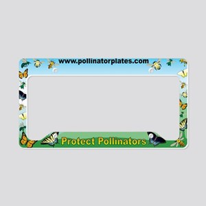 virginia pollinator License Plate Holder