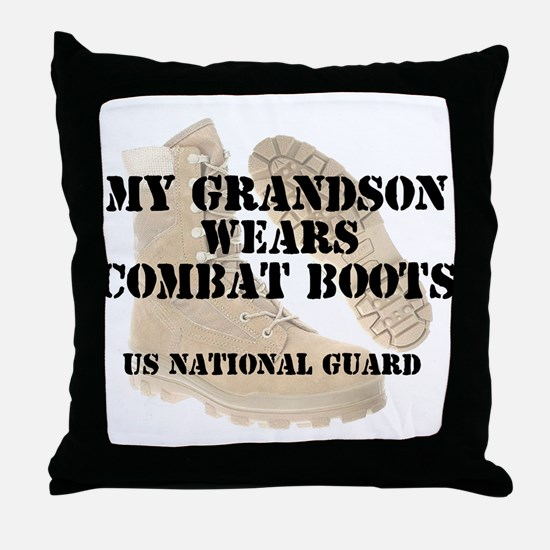 My Grandson Wears NG DCB Throw Pillow