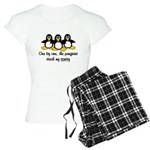 One by one, the penguins. Women's Light Pajamas