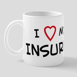 I Love Insurer Mug