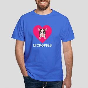 Love Micropigs Dark T-Shirt