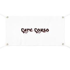 Cane Corso Banner