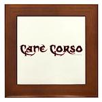 Cane Corso Framed Tile