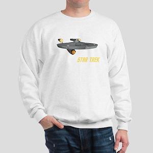 Enterprise Front Back Sweatshirt