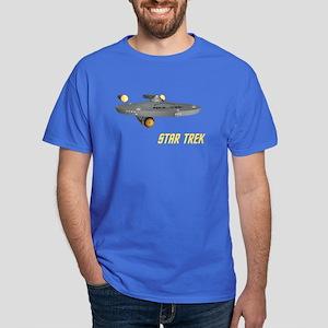Enterprise Front Back Dark T-Shirt