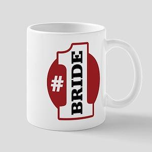 #1 Bride Mug