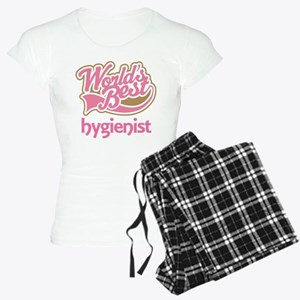 Worlds Best Hygienist Women's Light Pajamas