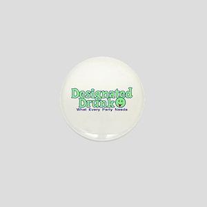 Designated Drunk Mini Button