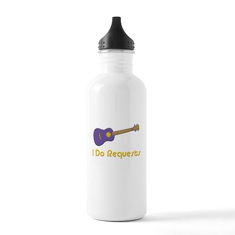 funny ukulele Stainless Water Bottle 1.0L